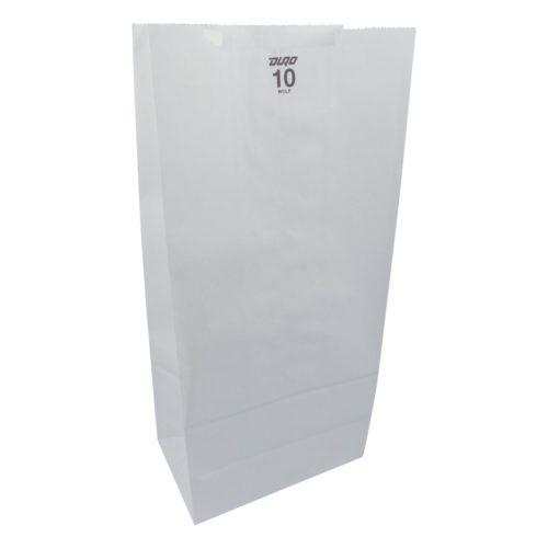10lb White Paper Bags Duro 51030