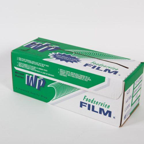 "12"" x 2000' Foodservice Film with Slide Cutter, Western Plastics 122"