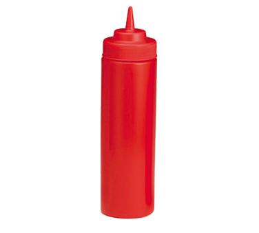12 oz. Red Squeeze Bottle Tablecraft 11253K