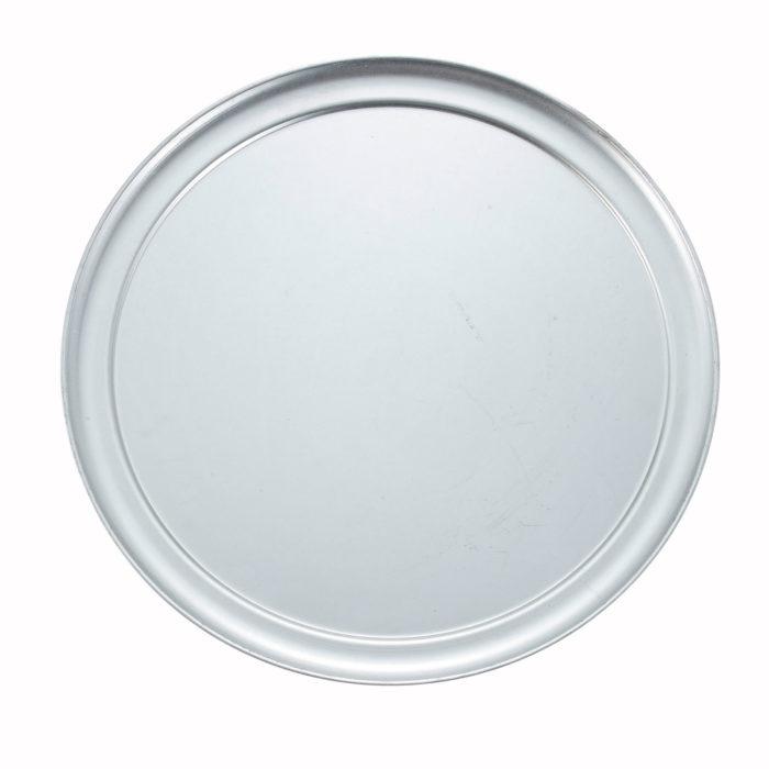 "15"" Wide Rim Pizza Pan, Winco APZT-15"