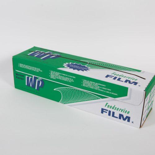 "18"" x 2000' Foodservice Film with Slide Cutter, Western Plastics 182"