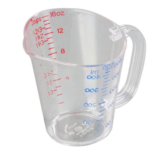 1 Pt. Plastic Measuring Cup Carlisle 4314207