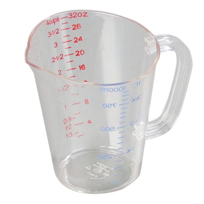 1 Qt. Plastic Measuring Cup Carlisle 4314307