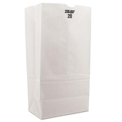 20lb White Paper Bags Duro 51040