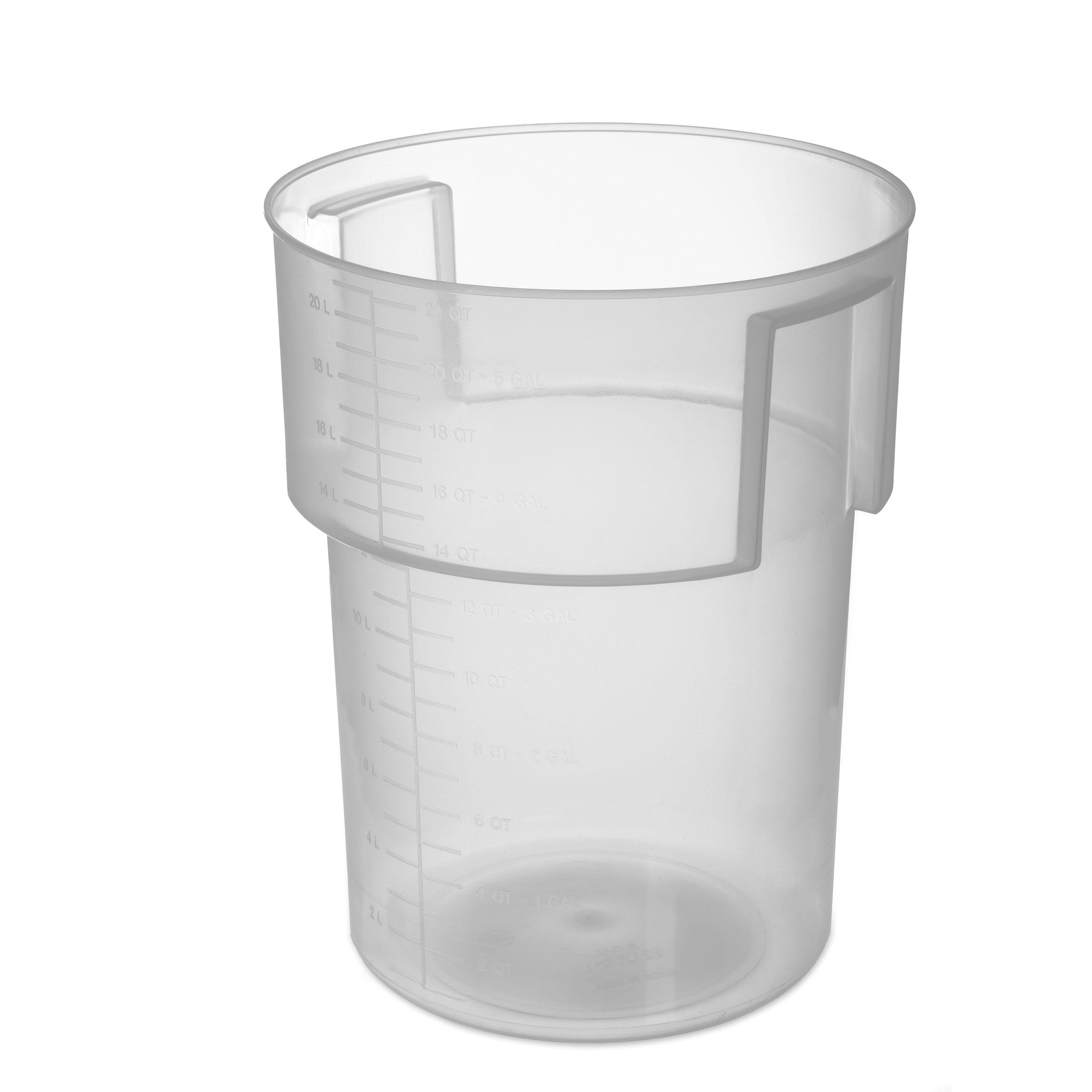 22 Qt. Translucent Plastic Bain Marie, Carlisle 220530