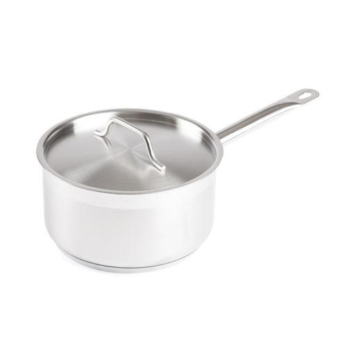 3.5 Qt. Stainless Steel Sauce Pan w/Lid, Winco SSSP-3