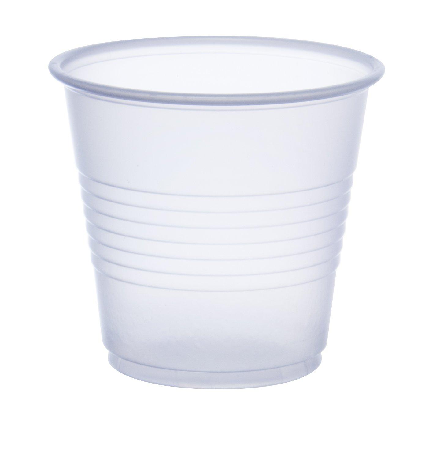 3.5 oz. Translucent Plastic Cups, Dart Y35 - Case