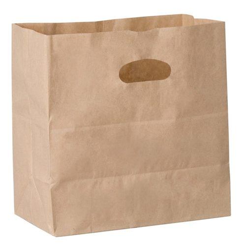 40lb Kraft Cutout Handle Bags Duro 84245