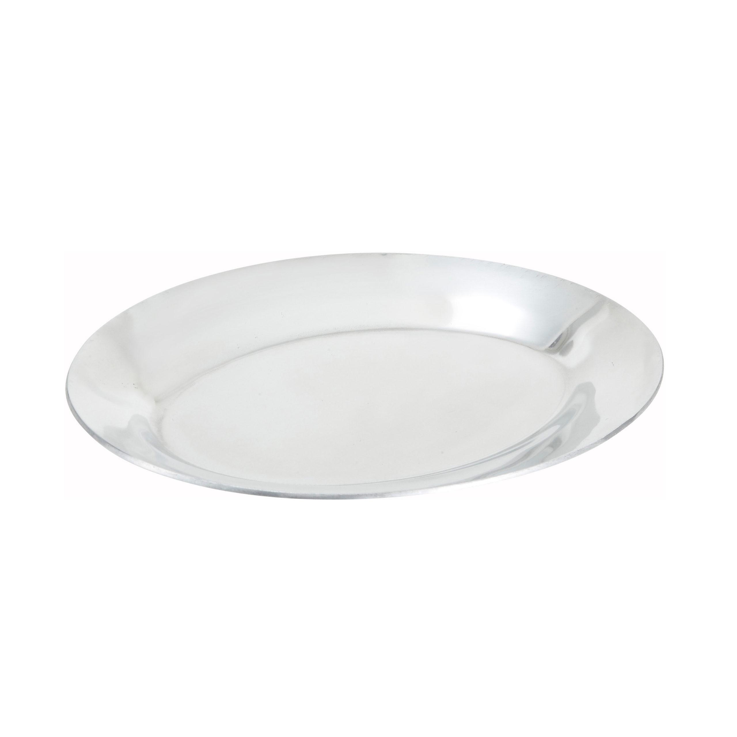 """11"""" Aluminum Sizzling Platter, Winco APL-11"""