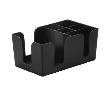 Black Plastic Bar Caddy Tablecraft 101