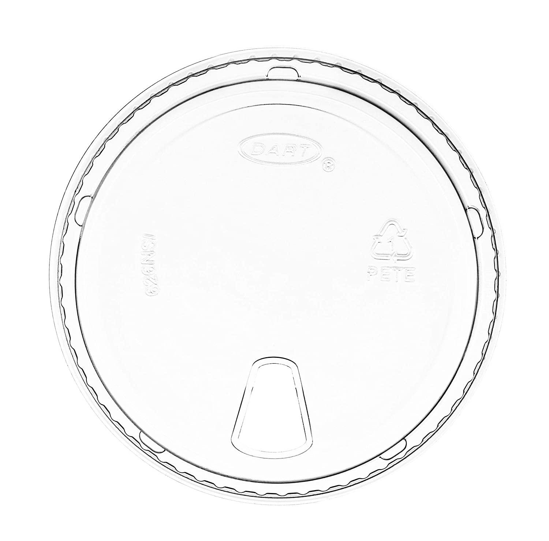 Prima? Clear Strawless Sip Lid, Dart 626NSL - Case
