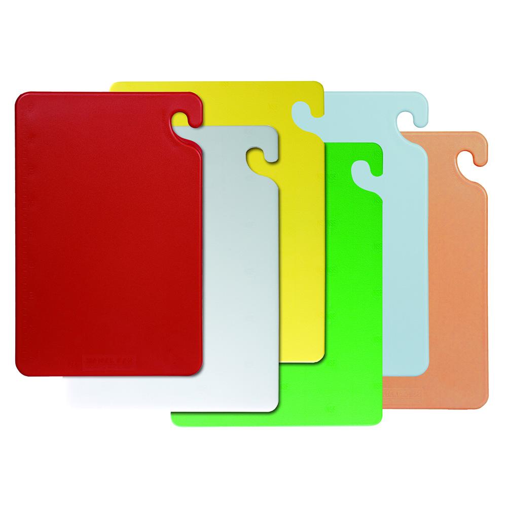 Cut-N-Carry Cutting 6-Board Set San Jamar CB1520KC