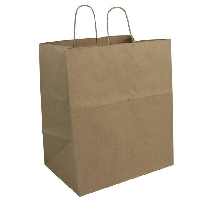Duro Super Royal Kraft Handled Bag 87145
