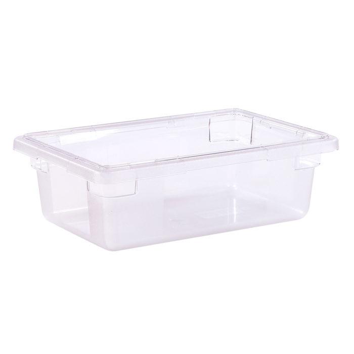 "StorPlus? Clear Food Storage Box, 18"" x 12"" x 6"", Carlisle 1061107"