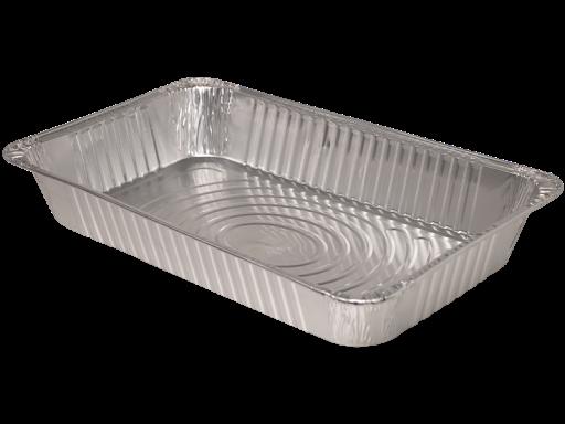 "Full Size Foil Pans 3"" deep 50/cs"
