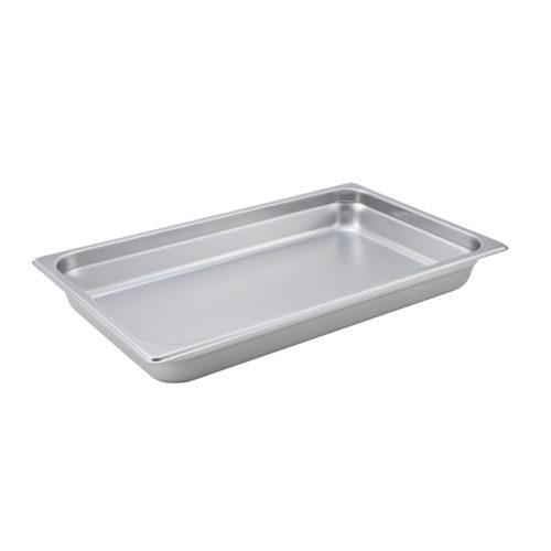 "Full Size Steam Table Pan, 2.5"" deep, Winco SPJM-102"
