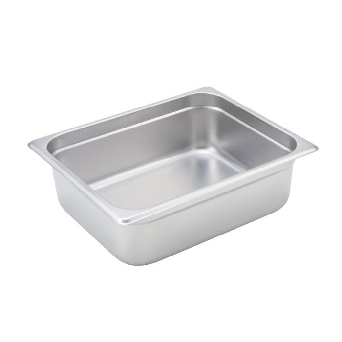 "Half Size Steam Table Pan, 4"" deep, Winco SPJM-204"
