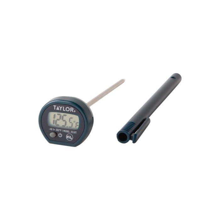 Instant Read Digital Pocket Probe Thermometer Taylor 3516FS
