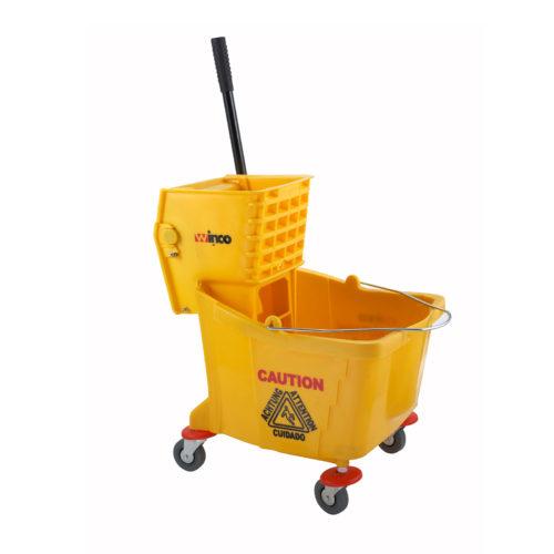 Mop Bucket w/ Wringer, Winco MPB-36