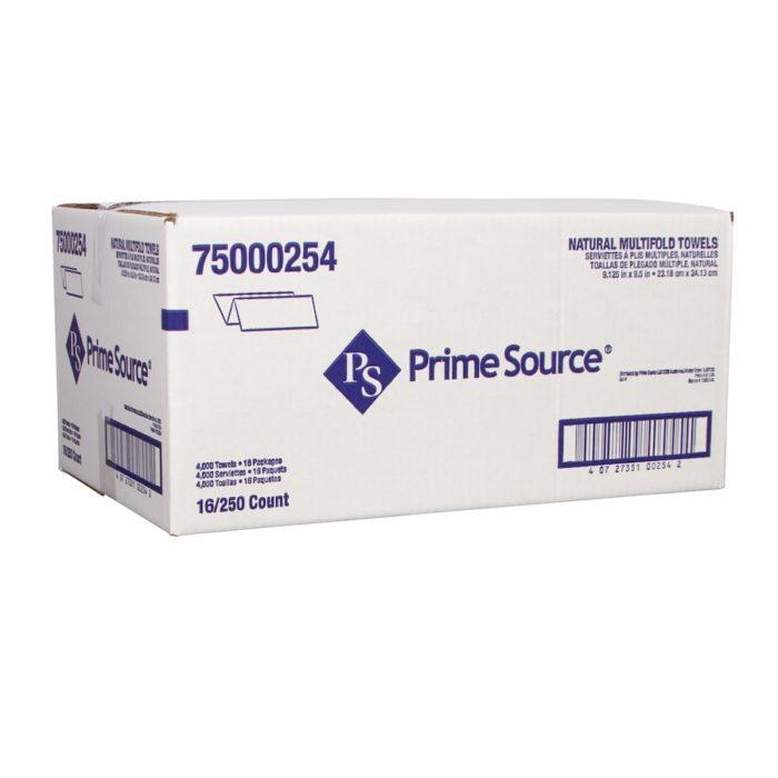 Multifold Brown Paper Towels, Primesource 75000254