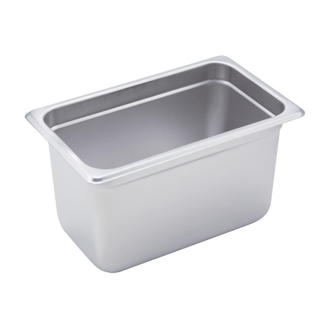 "1/4 Size Steam Table Pan, 6"" deep, Winco SPJM-406"