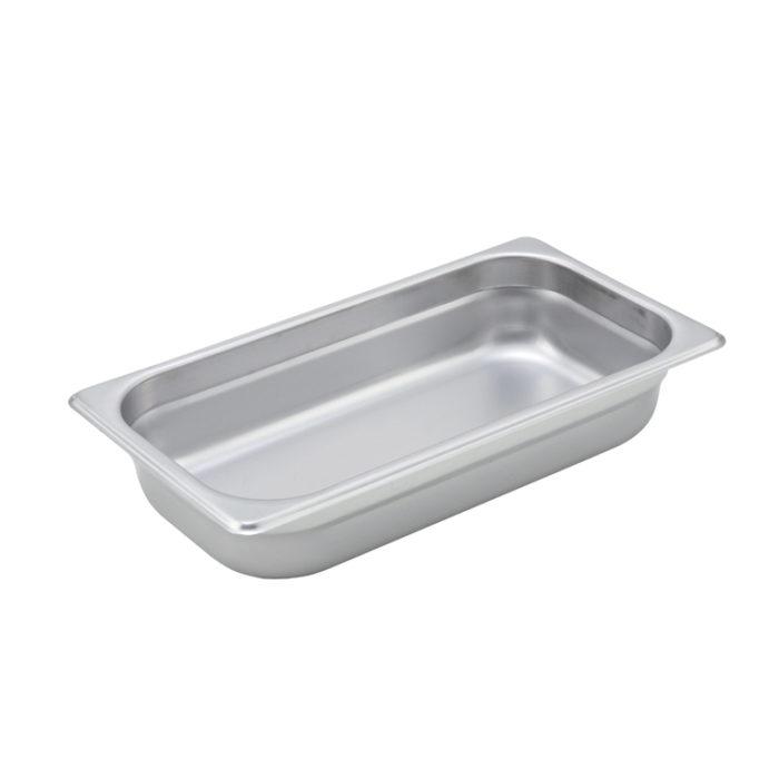 "1/3 Size Steam Table Pan, 2.5"" deep, Winco SPJM-302"
